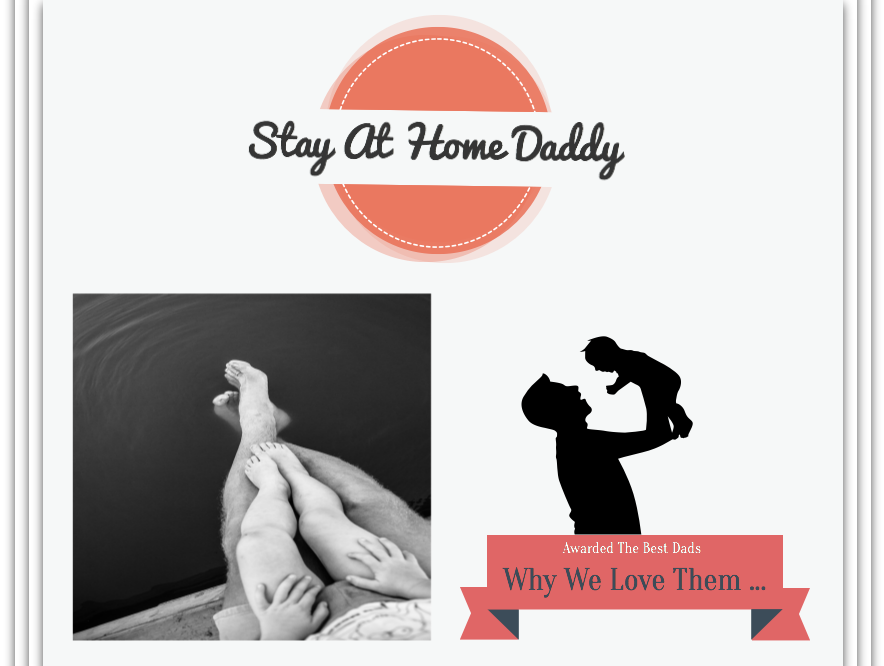 At home daddy…..bestest!