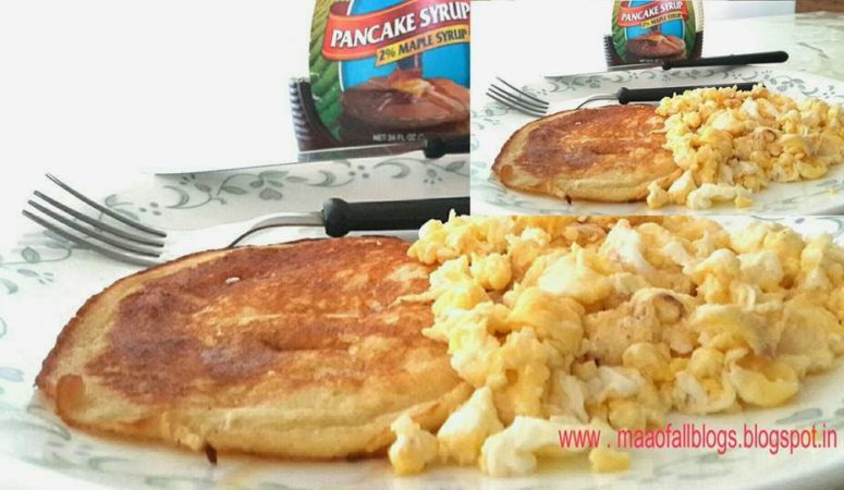 The Perfect Pancake in 5 minutes!