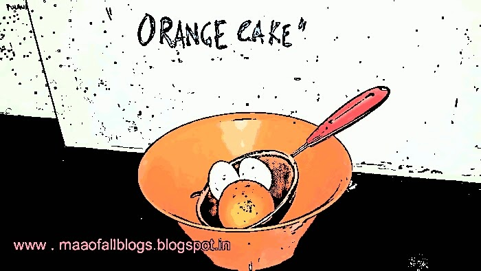 Orange Cake!Dah-Licious!!