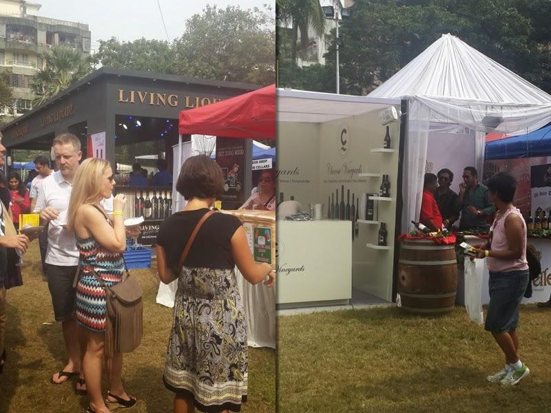 Bandra-wine-festival-2014-Wine-tasting-stalls