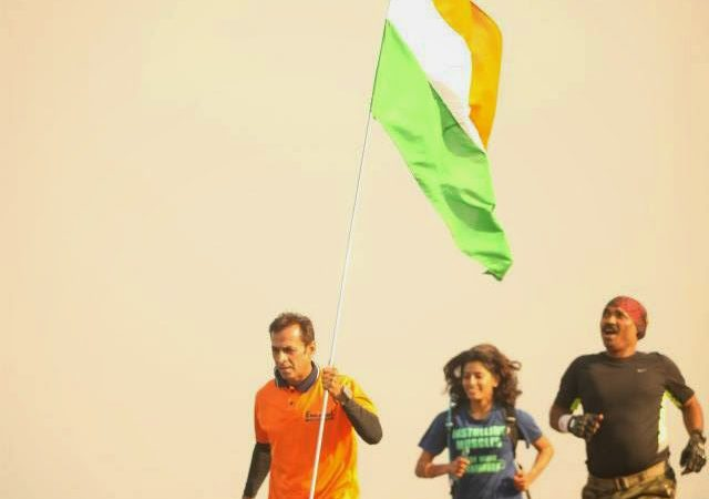 Raj Vadgama-10000 kms-A salute to the nation !