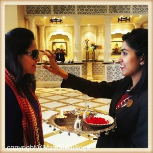 ITC-GRAND-BHARAT-TRADITIONAL-WELCOME-MAA-OF-ALL-BLOGS-ON-TRAVEL
