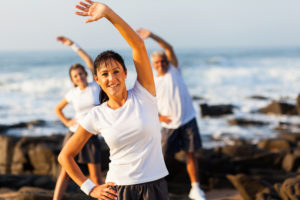 Fitness and Women in their forties