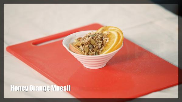 Honey Orange Muesli