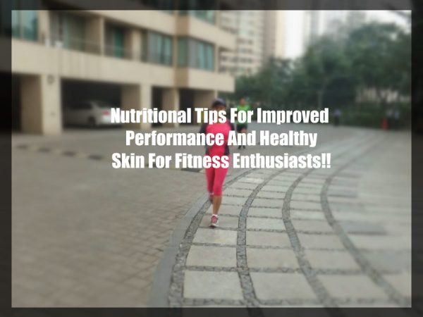 Nutrition Tips for Fitness Enthusiasts on a Rainy Day!!