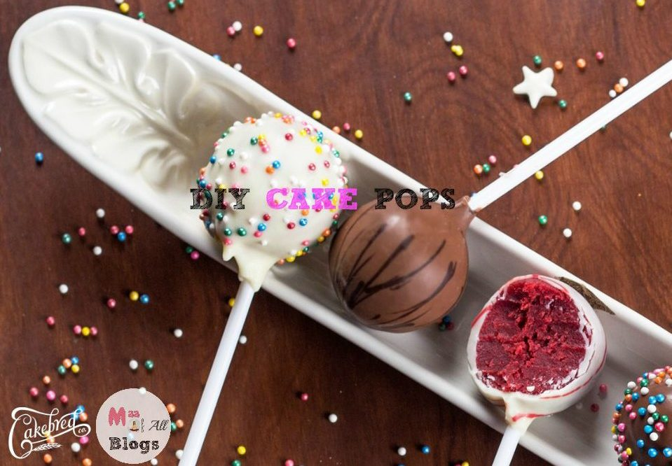 DIY CAKE POPS – RECIPE