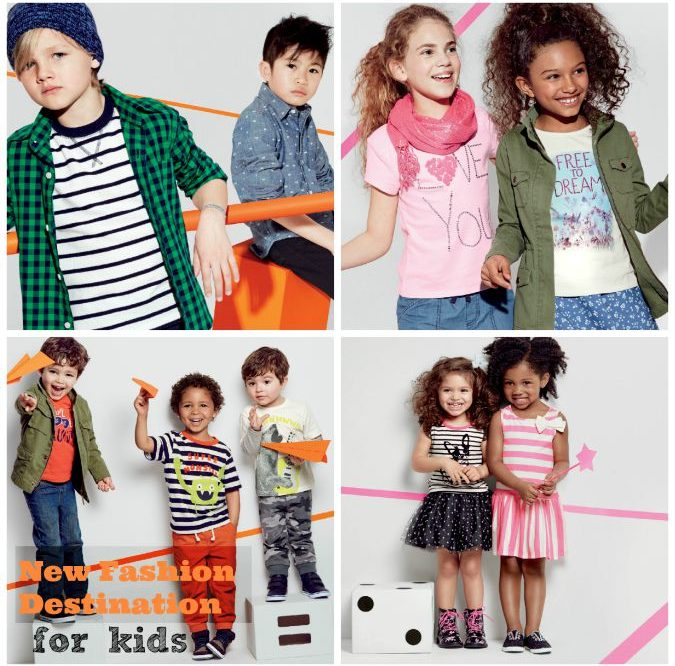 A New Desination for Kid's Fashion- The Children's Place