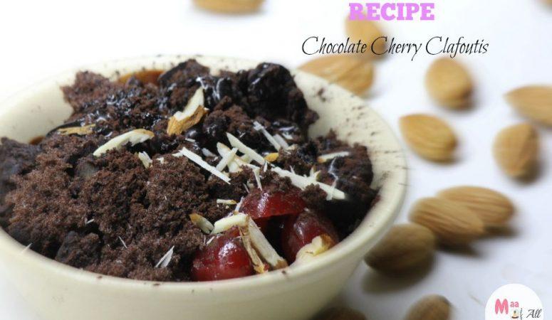 Recipe : Chocolate Cherry Clafoutis