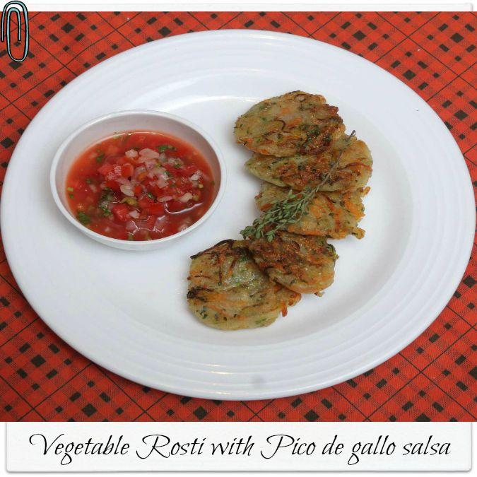 Recipe Vegetabel Rosti