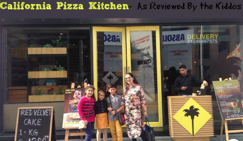 California Pizza Kitchen – As Reviewed By The Kiddos