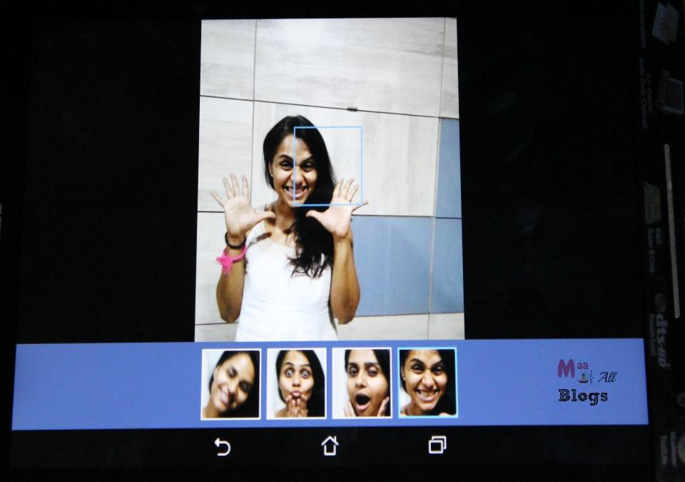 asus zenpad best smile feature