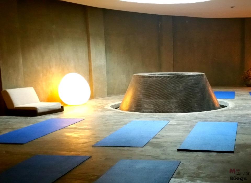 hilton meditation cave