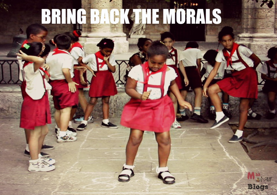 moral being taught in school