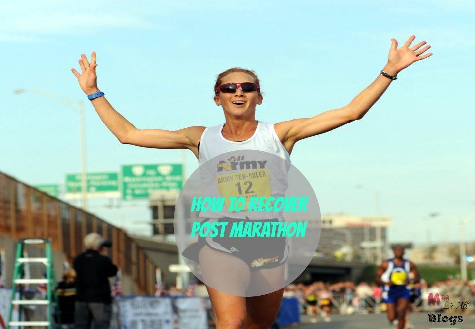 Post Marathon Recovery Plan- #SCMM