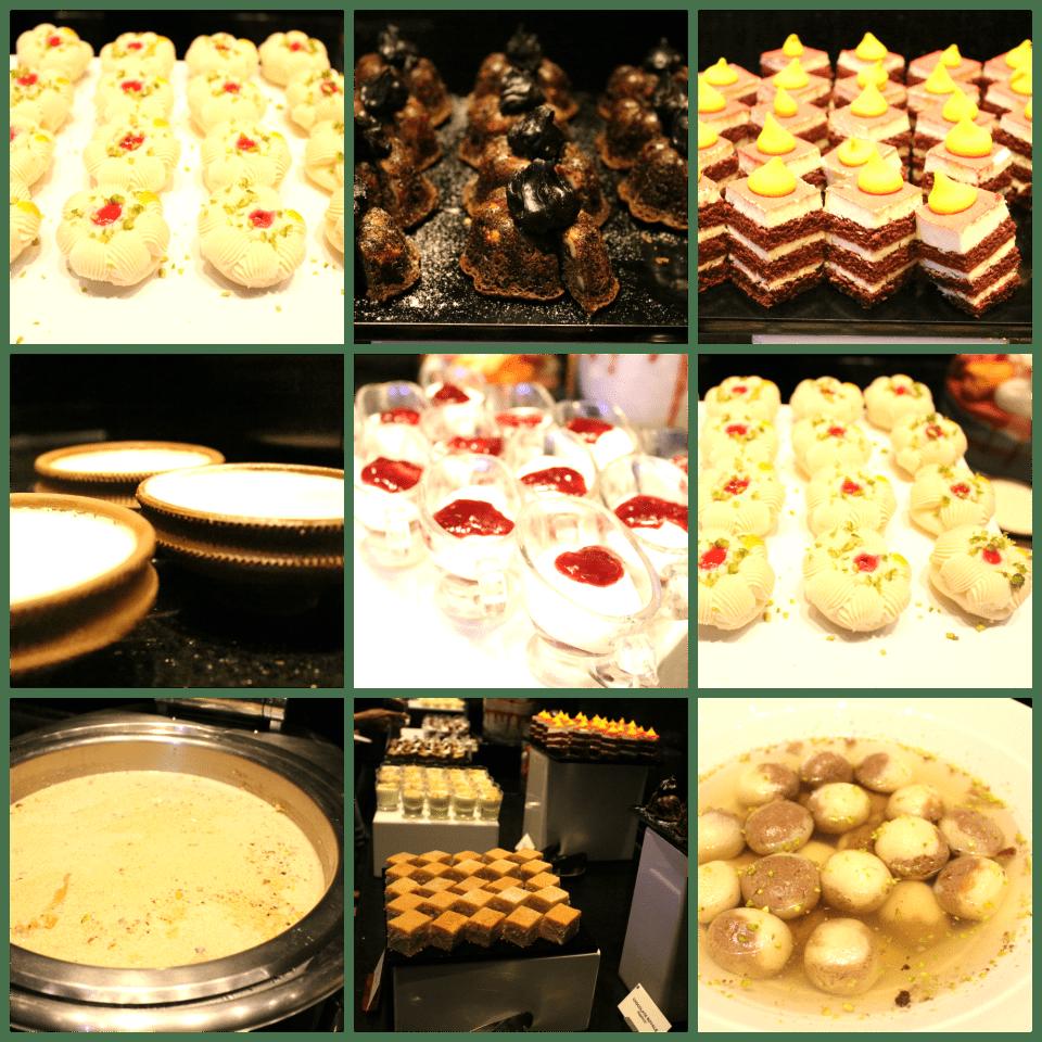 Glimpse of desserts at Bangaldeshi Flavours - Pet Pujo Jalsa At Sofitel BKC