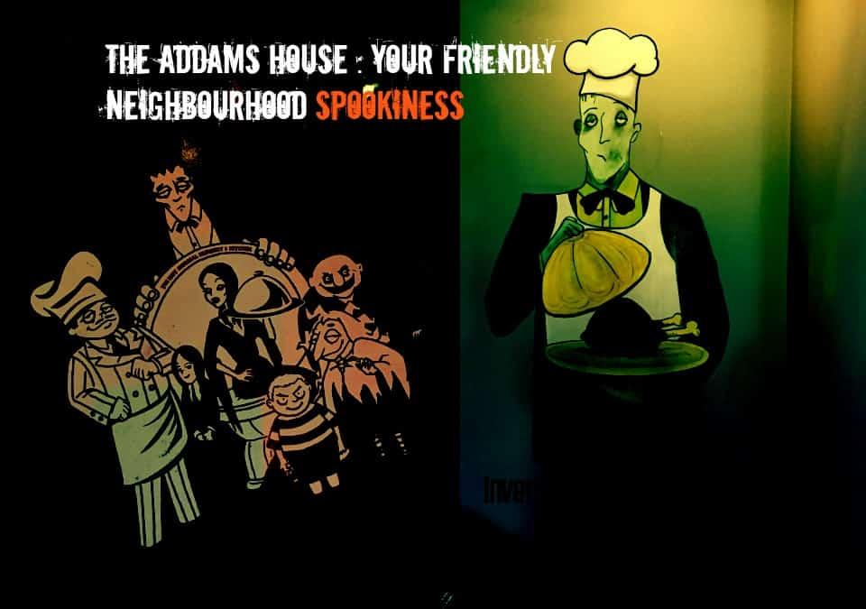 the addams house