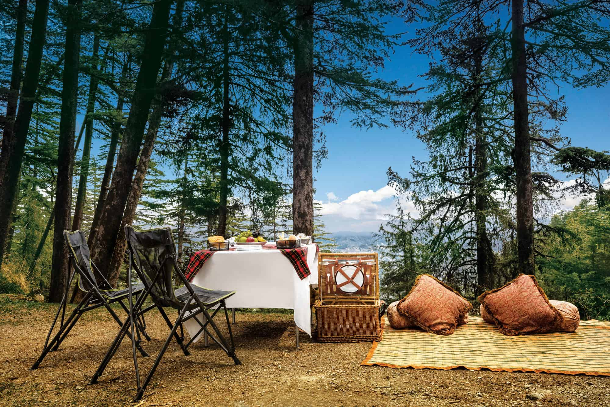 Picnic at the Peak - Wildflower Hall, Shimla in the Himalayas, An Oberoi Resort