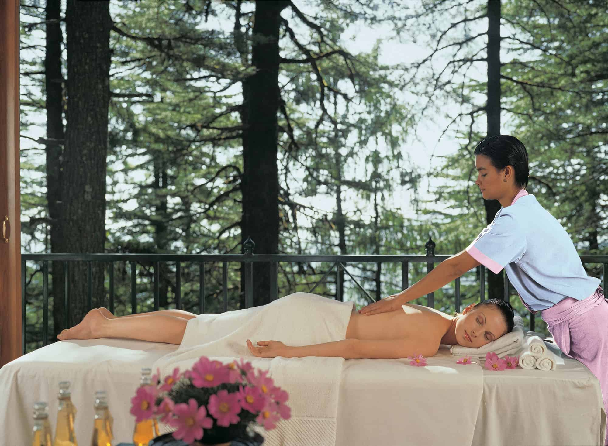 Spa Pavillion at The Oberoi Spa - Wildflower Hall, Shimla in the Himalayas 01