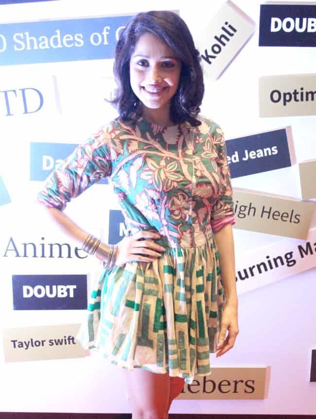 nushrat baruchi at lakme fashion week