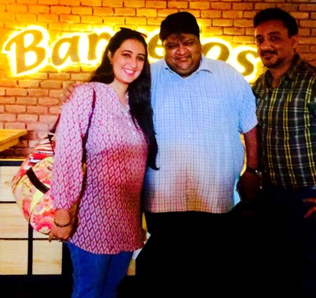 Neha with Vicky FoodManiac