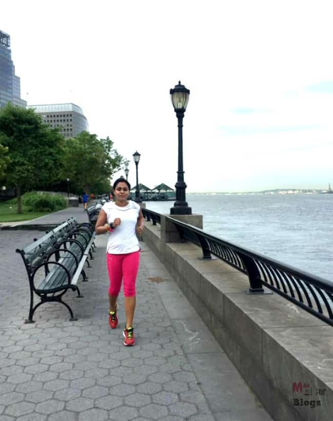 Running by the Hudson River