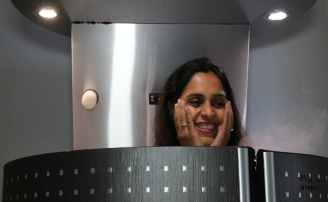 Whole body Cryotherapy session