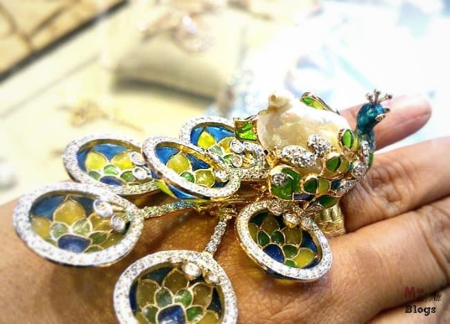 Peacock ring Retail Jeweller India Award