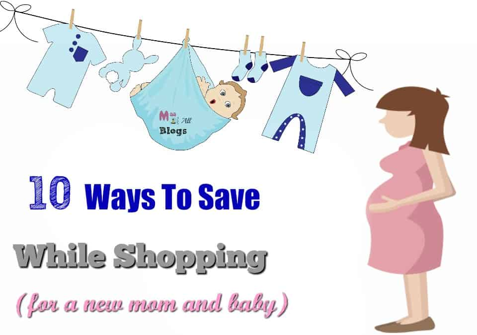 Save while shopping for a new mom and baby