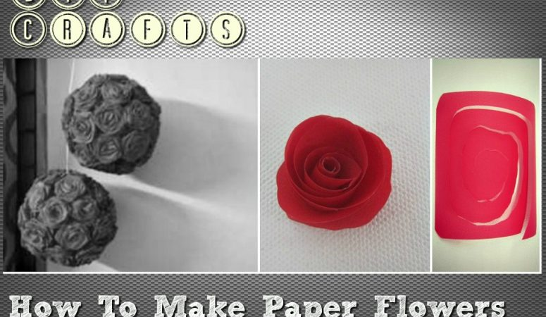 DIY Crafts: How to Make Paper Flowers