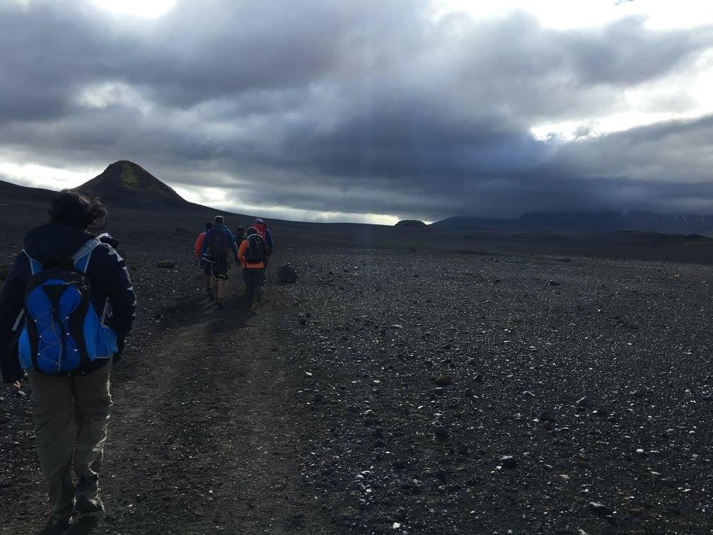Hiking Iceland Day 2 of Landmannalagaur trail