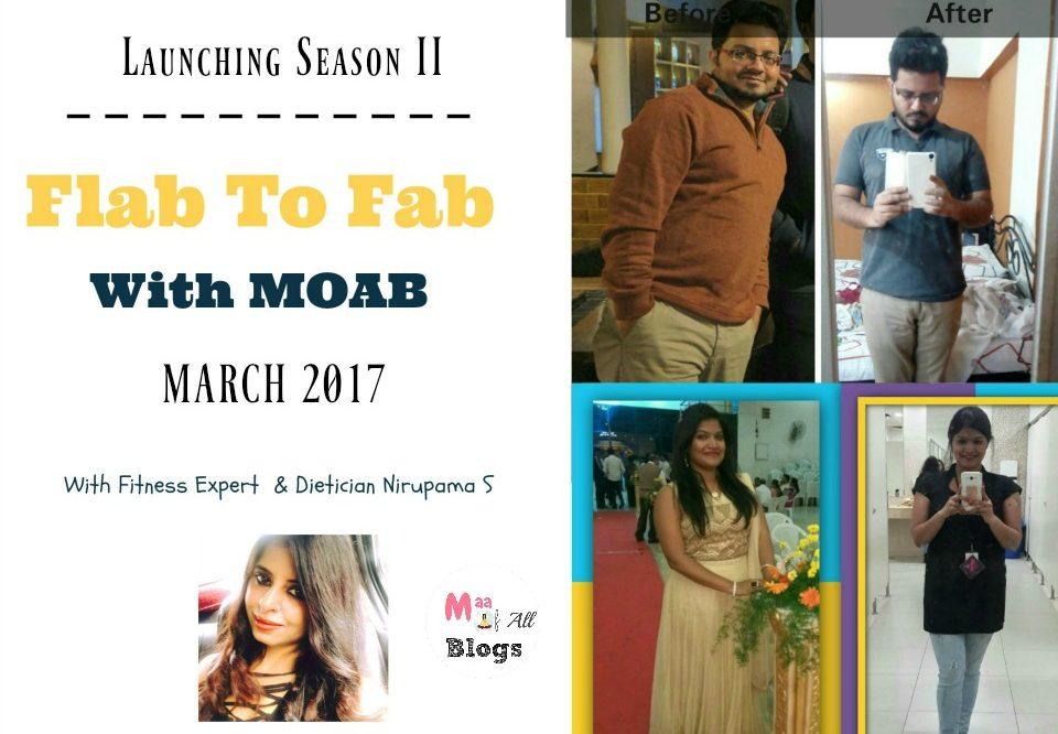 Launching #FlabtoFabWithMOAB Fitness Challenge – Season II