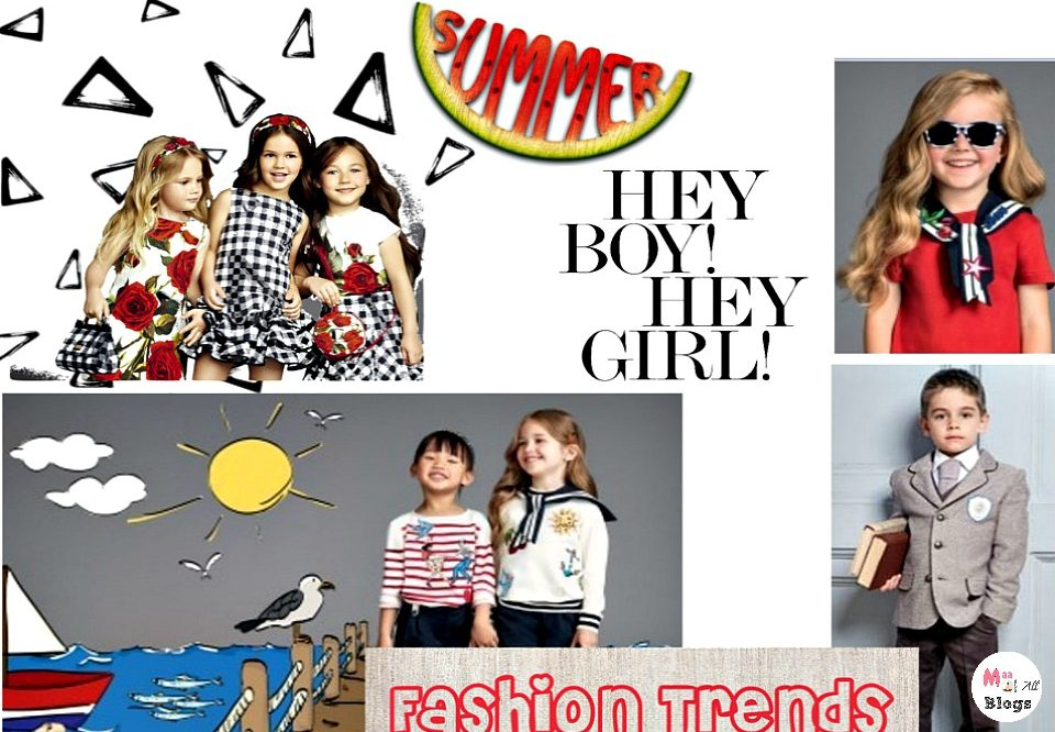 2017 Spring Summer Trends for Kids
