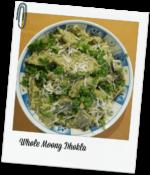 Whole Moong Dhokla