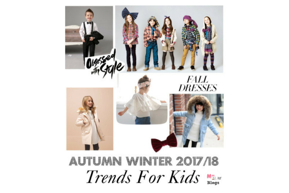 Autumn Winter 2017 trends for kids: Bring Back The Cool
