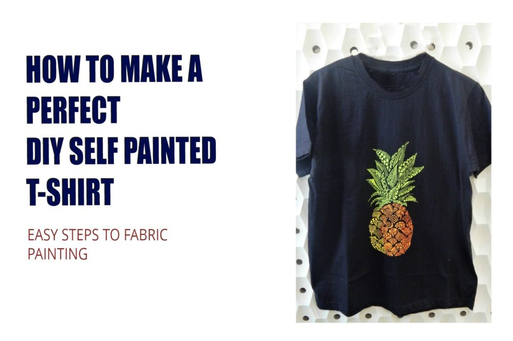 How To Make A Perfect Self-Painted DIY T-shirt