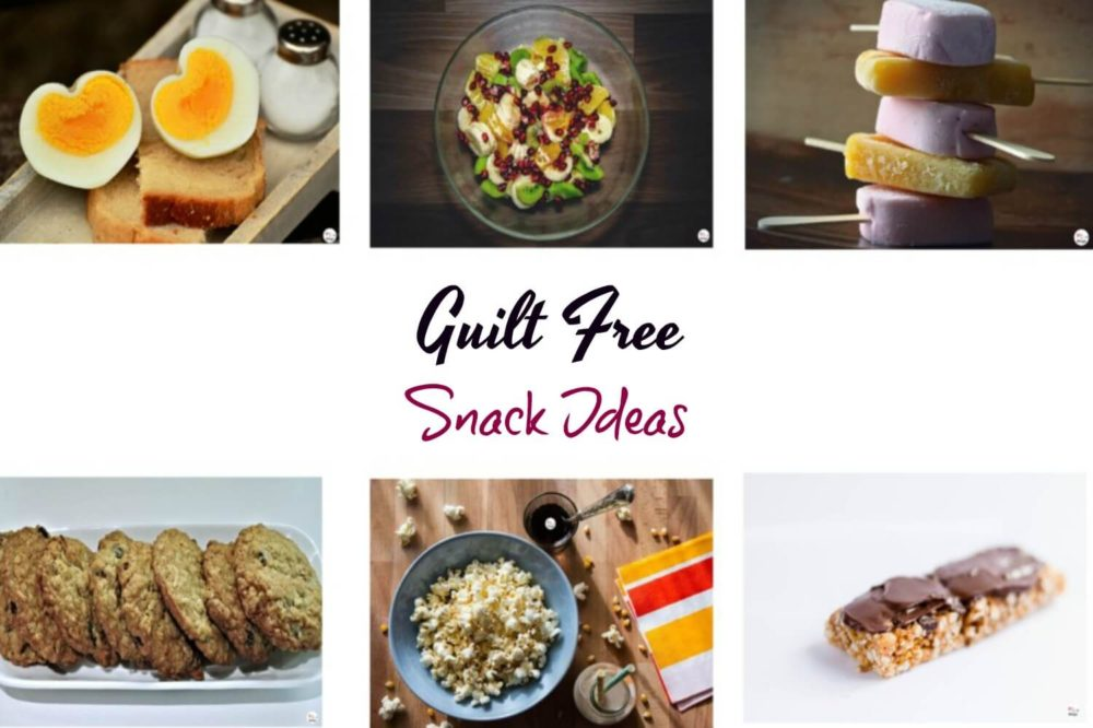 Guilt-free healthy evening snacks ideas!