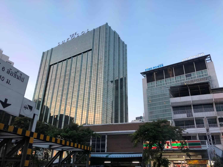The Sukosol hotel, Bangkok.
