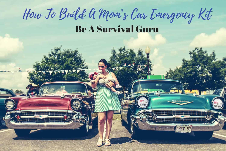 Mom's car emergency kit