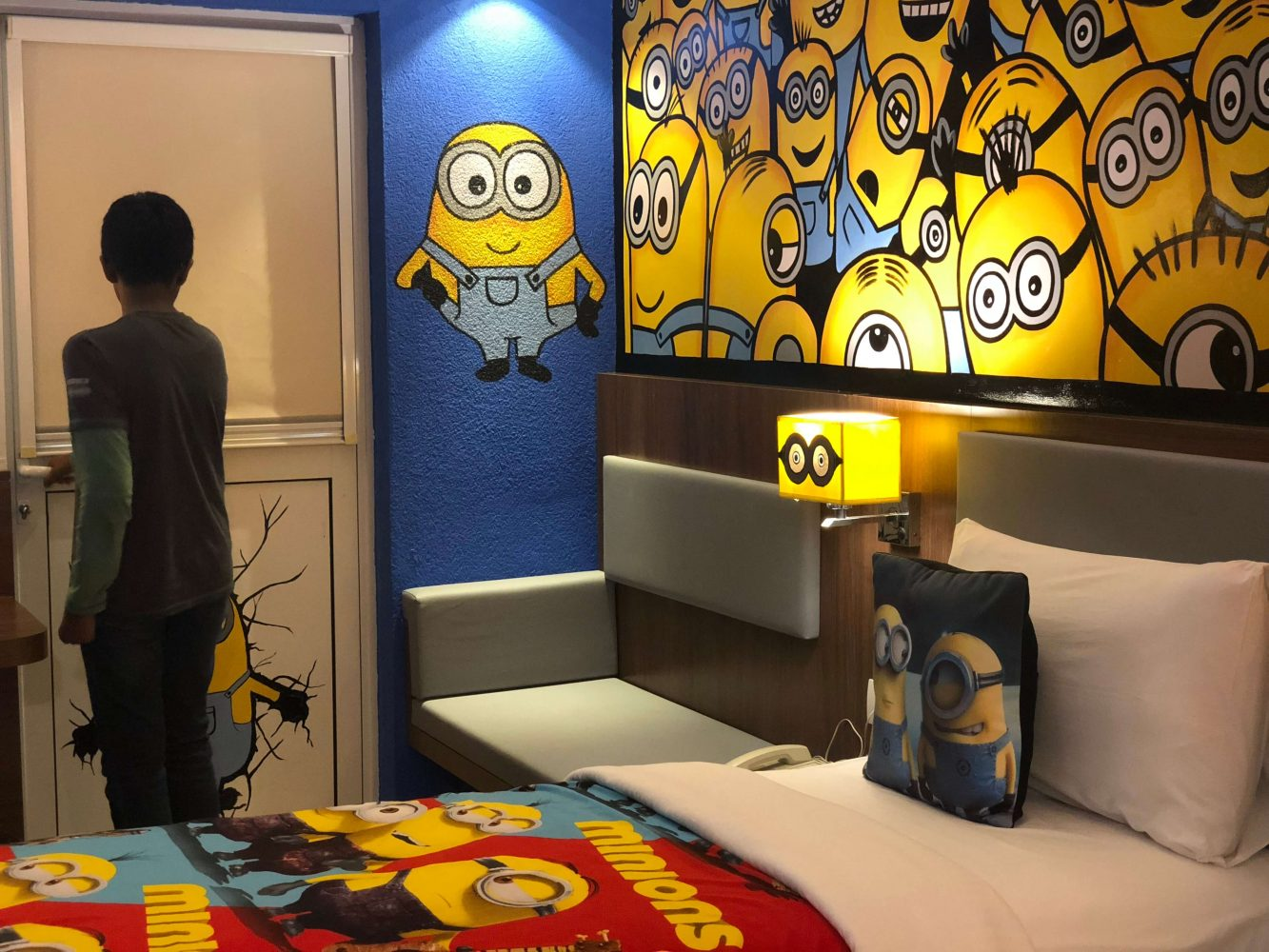 Minion room at Ibis Styles Goa Calangute