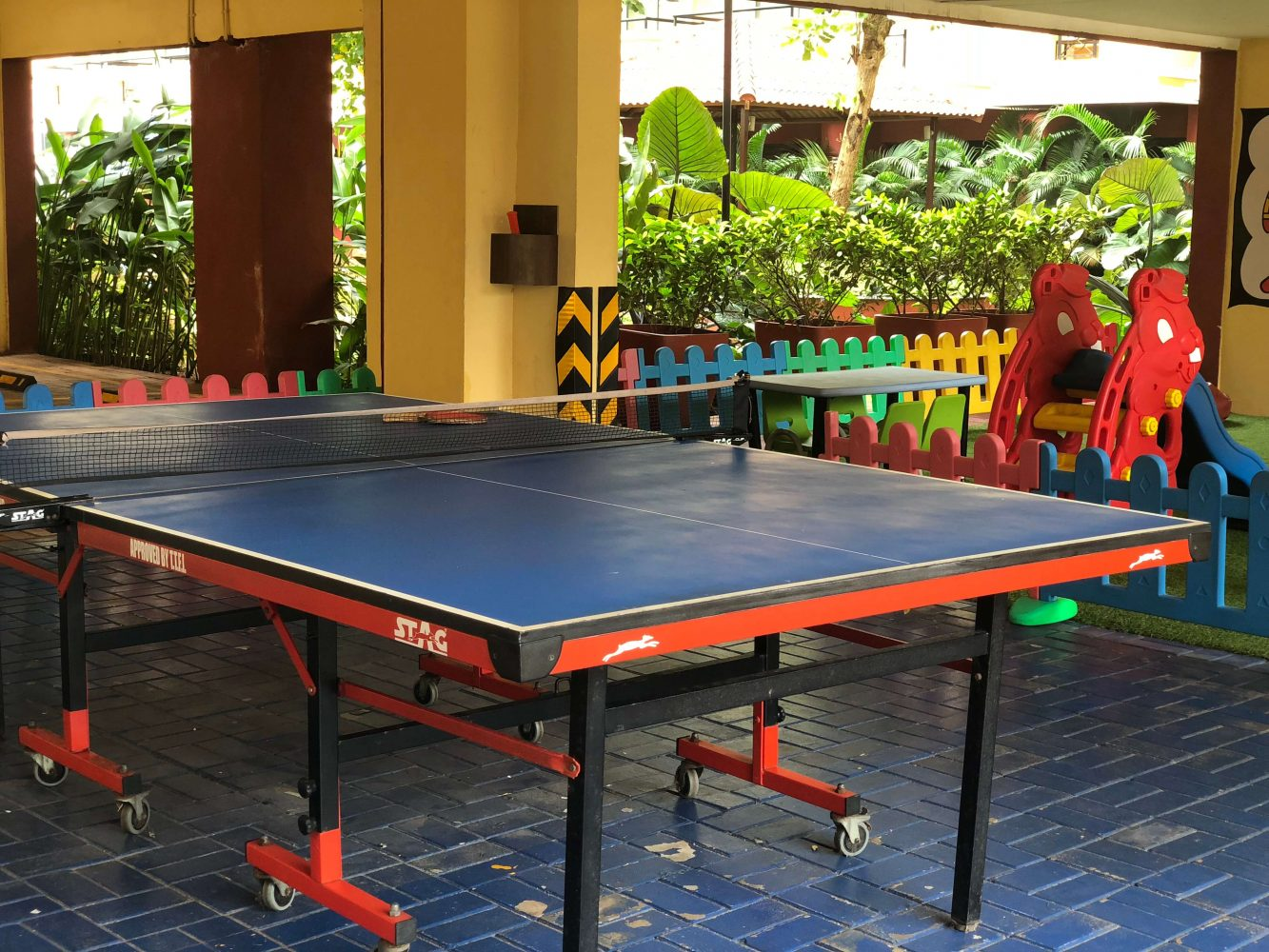 Tennis table at Ibis Styles Goa Calangute