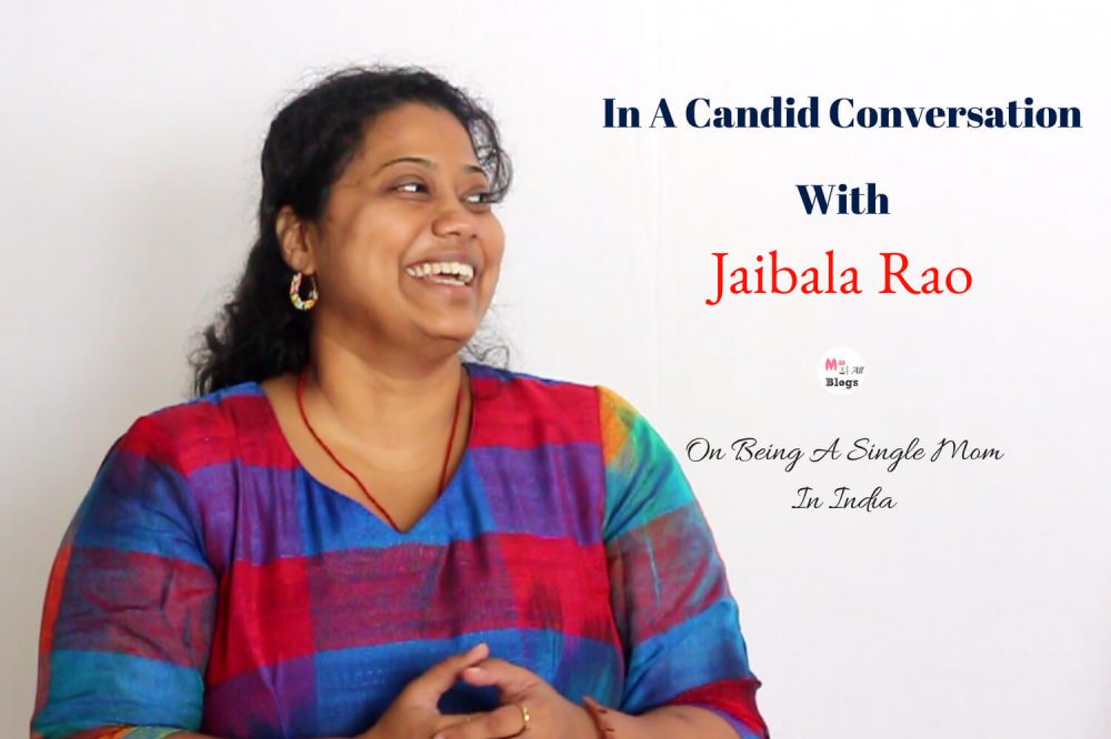 Candid Conversation With Jaibala Rao On being A Single Mom In India
