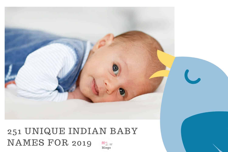 251 Unique Indian Baby Names 2019