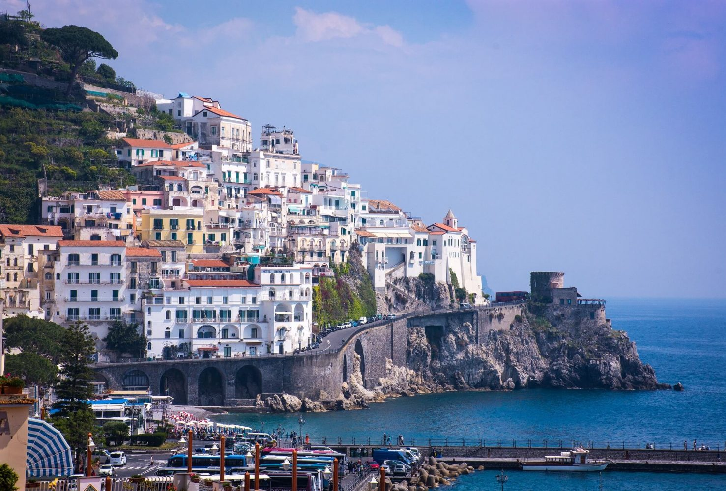 Amalfi- TOP 45 DESTINATIONS TO VISIT IN 2019 FOR INDIANS