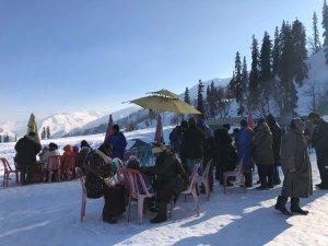 phase 1 of Gondola ride Gulmarg