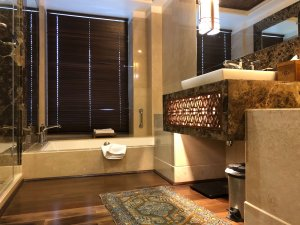 bathroom at The Khyber Resort & Spa Gulmarg