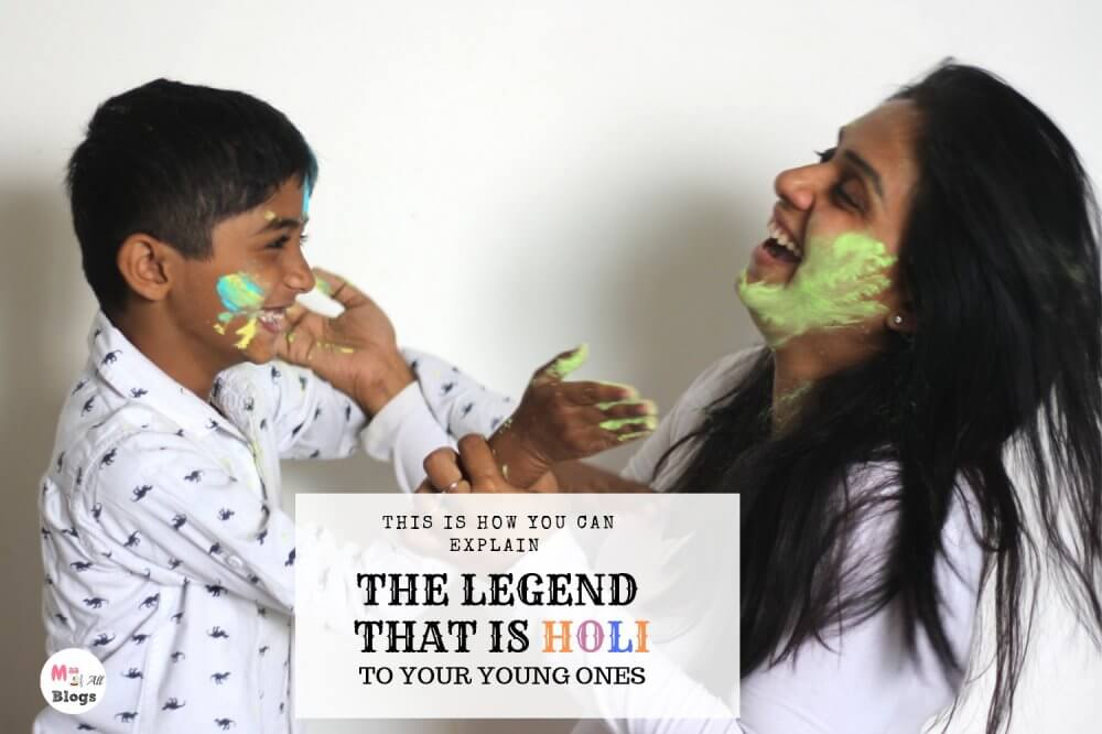 This Is How You Can Explain The Legend Of Holi To Your Young Ones
