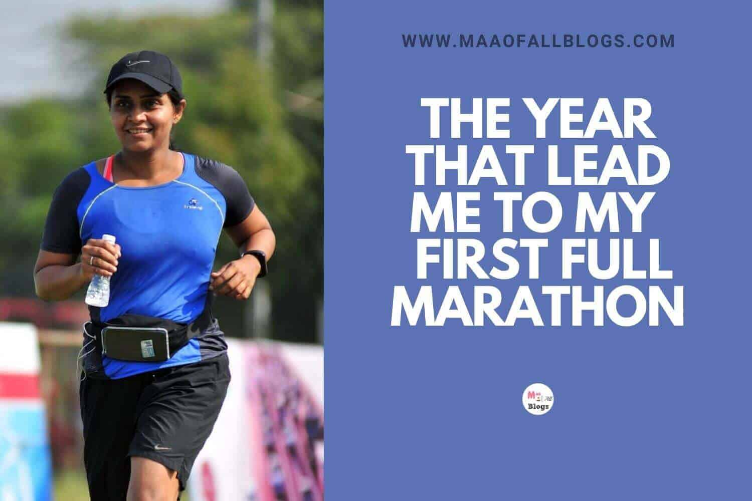 My  First Full Marathon