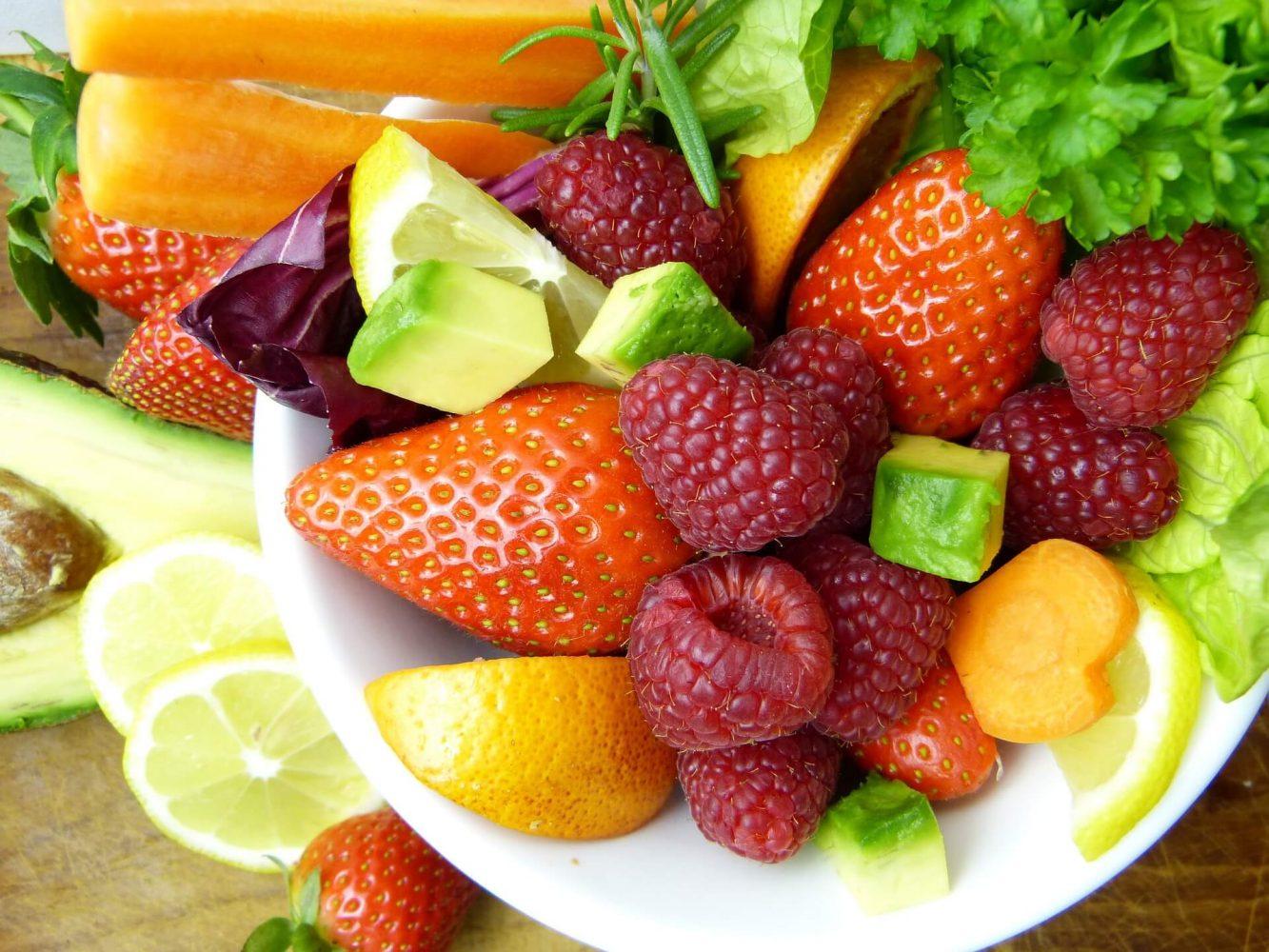 fruit and vegetables- Ayurvedic diet in winters