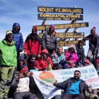 Kilimanjaro Inclusive Trek With Adventure Beyond barriers Foundation