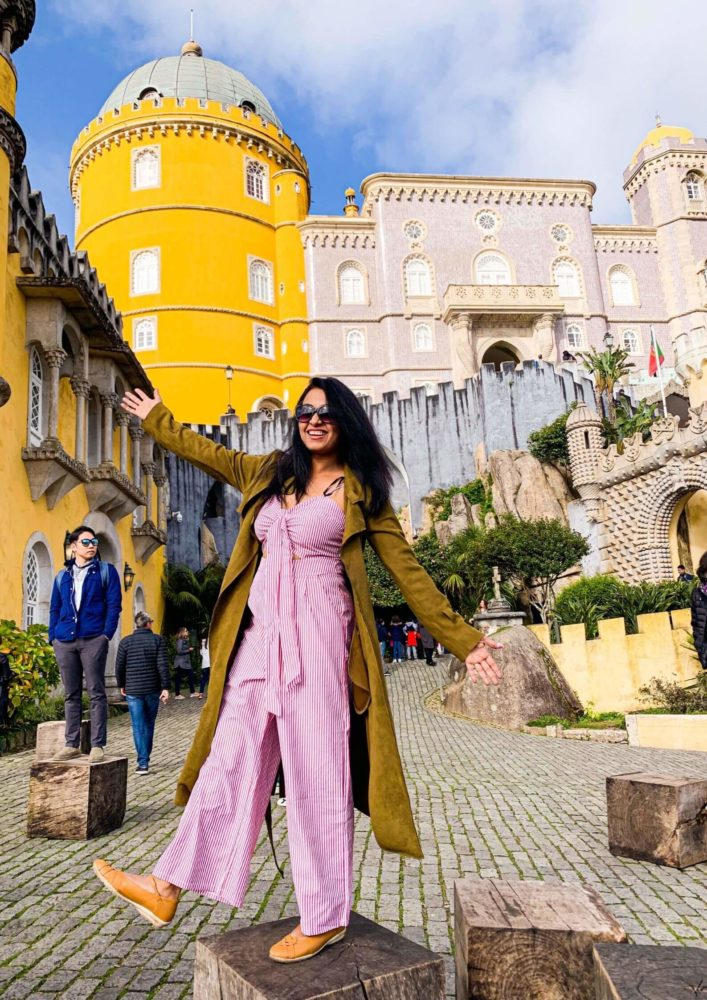 The Whimsical Pena Palace At Sintra